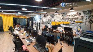 thiết kế nội thất văn phòng hiện đại cho công ty về công nghệ