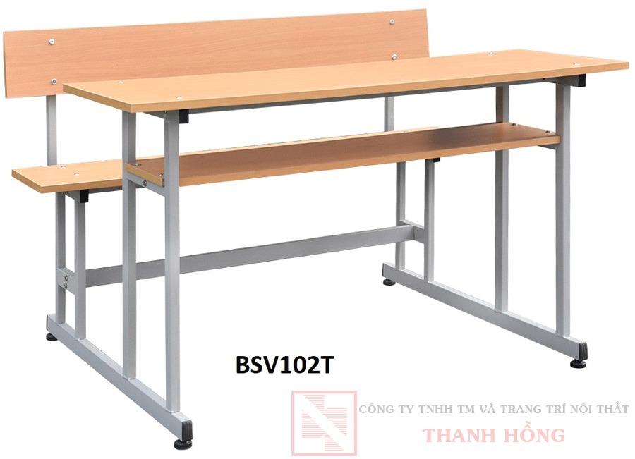 Bàn ghế học sinh Hòa Phát BSV102T
