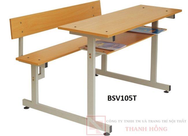 Bộ bàn ghế sinh viên Hòa Phát BSV105T