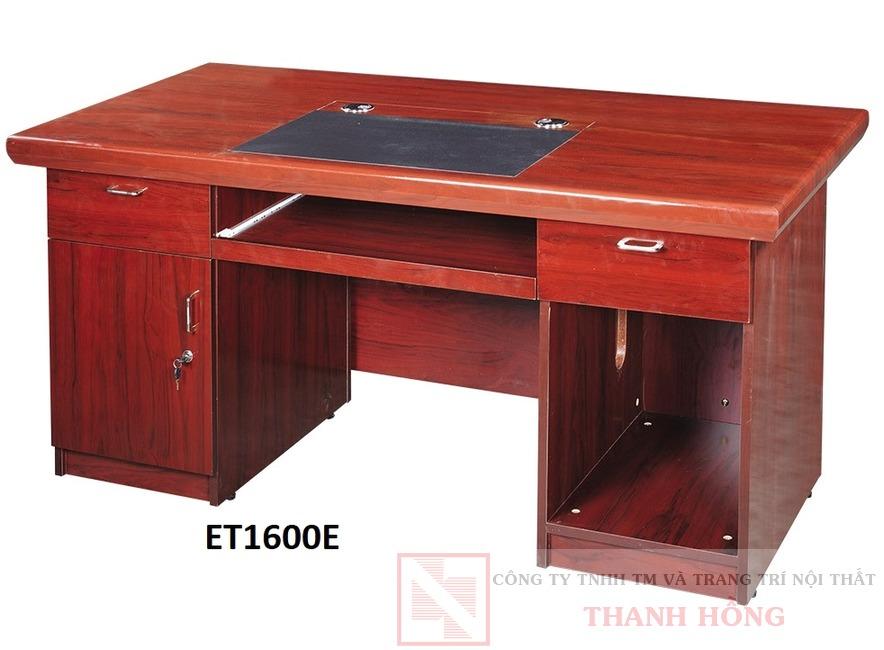 Bàn lãnh đạo gỗ công nghiệp ET1600E