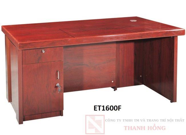 Bàn lãnh đạo gỗ công nghiệp ET1600F