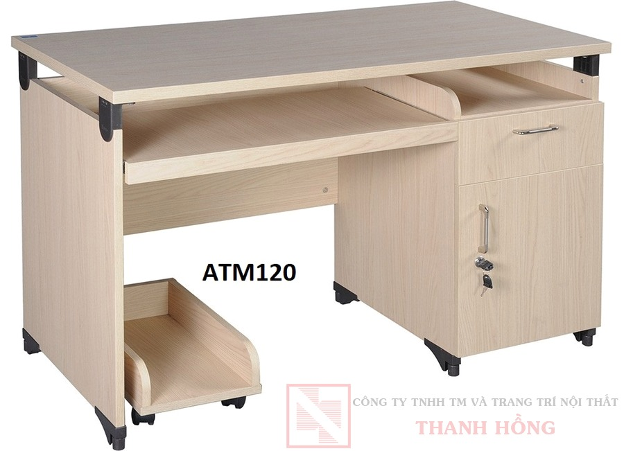 Bàn máy tính Athena Hòa Phát ATM120