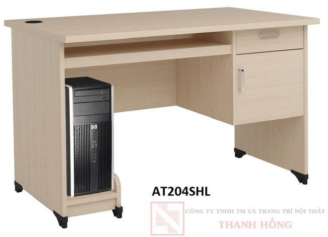 Bàn máy tính gỗ Hòa Phát AT204HL