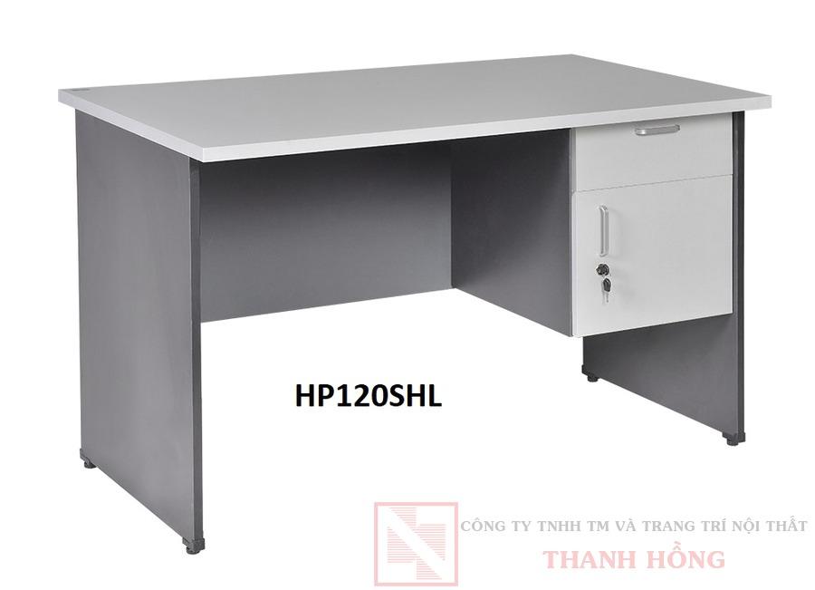 Bàn nhân viên 1m2 hộc liền HP120HL