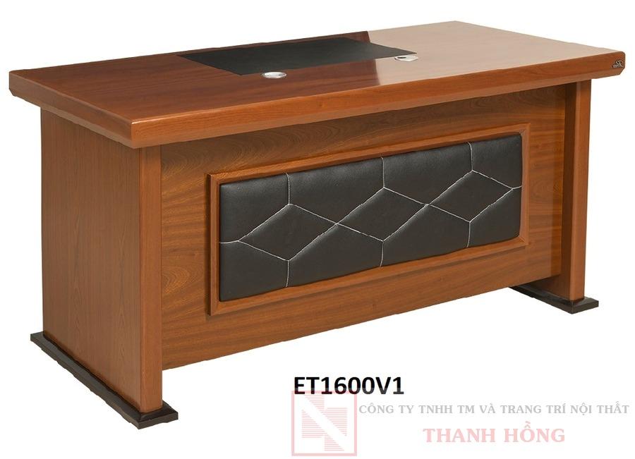 Bàn lãnh đạo gỗ veneer ET1600V