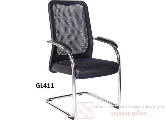 Ghế chân quỳ tựa lưới GL411