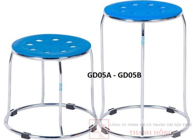 ghế đôn chân tròn hòa phát gd05