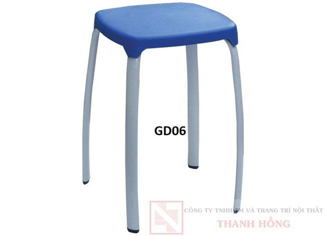 ghế đôn hòa phát chân vuông gd06