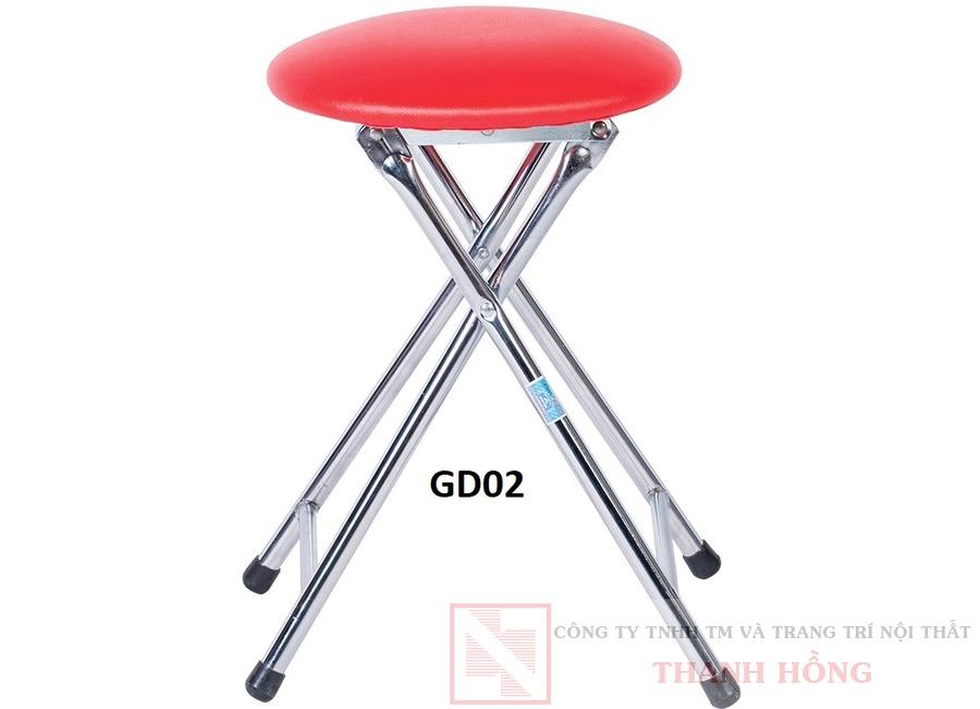 ghế đôn chân gấp hòa phát gd02