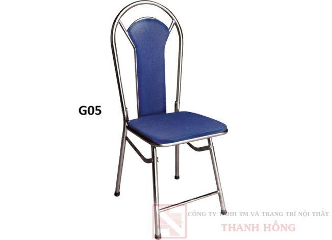 ghế gấp inox Hòa Phát G05