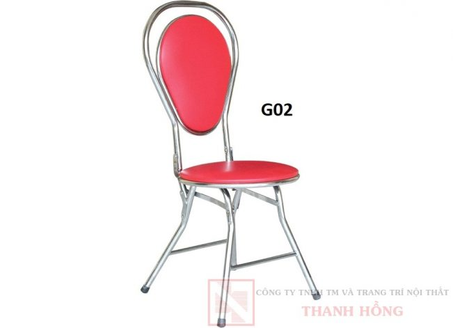 ghế gấp hòa phát kung inox g02