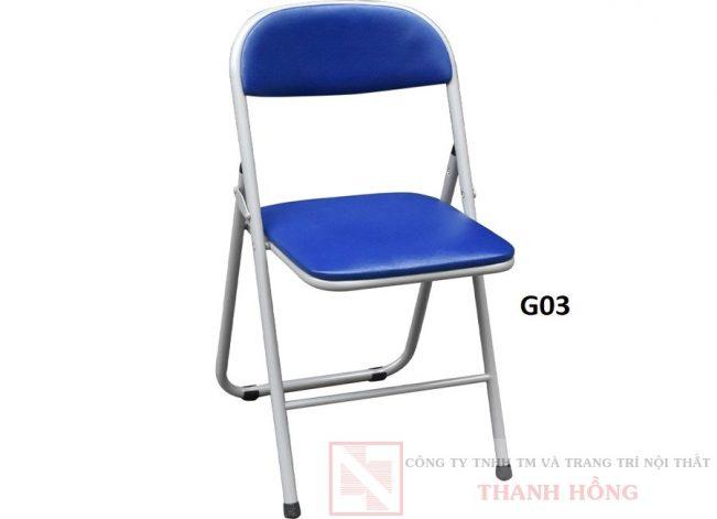 ghế gấp khung thép hòa phát g03