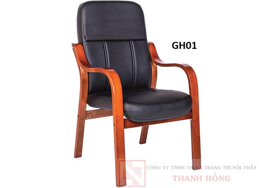 Ghế họp cao cấp khung gỗ GH01