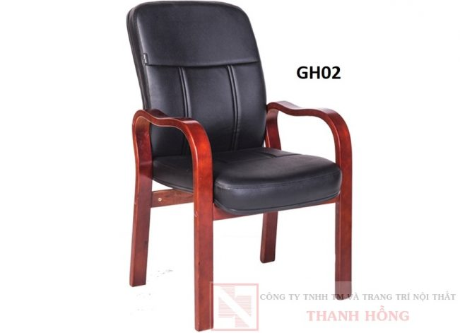 Ghế họp da cao cấp GH02