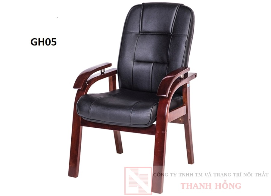 Ghế họp khung gỗ cao cấp GH05
