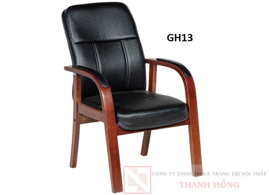 Ghế họp khung gỗ tự nhiên GH13