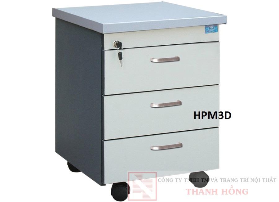 Hộc bàn làm việc 3 ngăn HPM3D