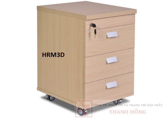 Hộc bàn di động 3 ngăn HRM3D