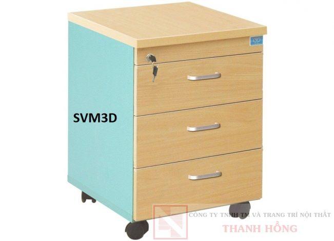 Hộc bàn làm việc 3 ngăn SVM3D