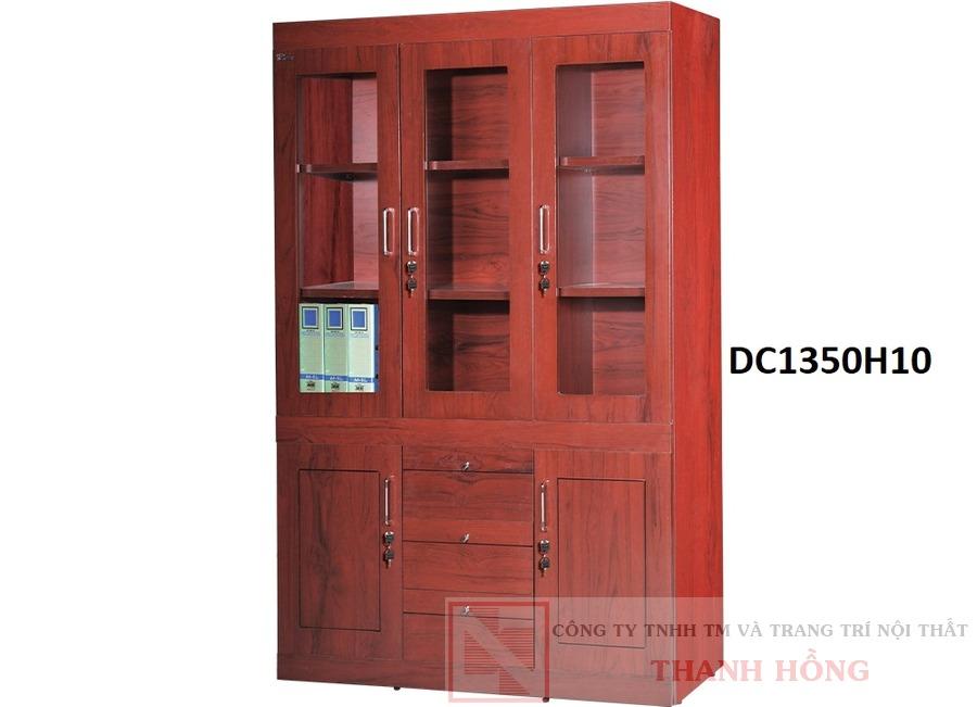 Tủ tài liệu gỗ công nghiệp sơn PU DC1350H10