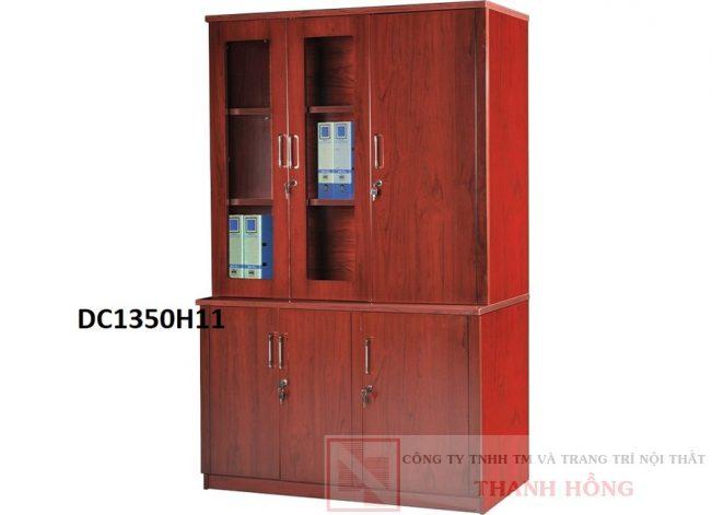 Tủ tài liệu gỗ công nghiệp sơn PU DC1350H11