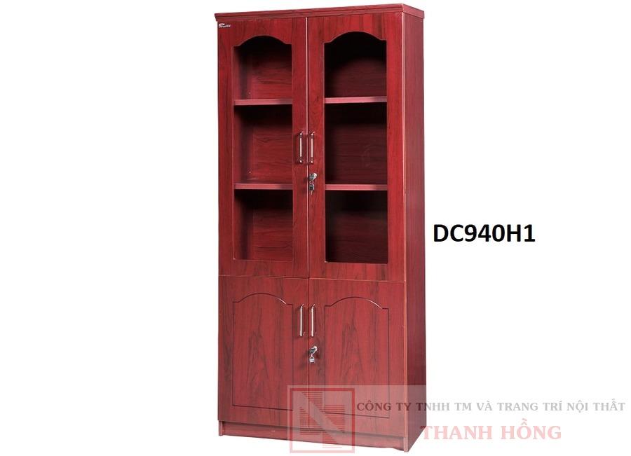 Tủ tài liệu gỗ công nghiệp 2 cánh DC940H1